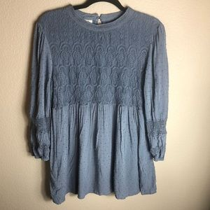 Anthropologie One September Lace Top